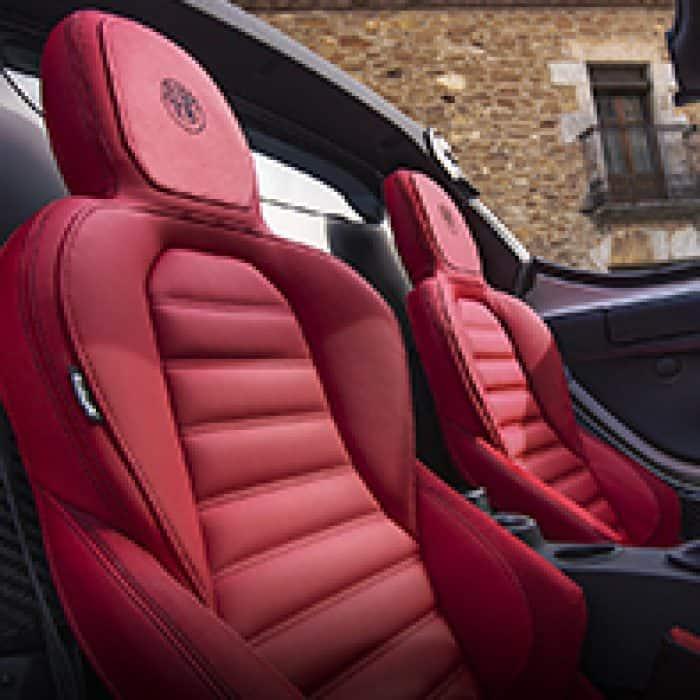 2019 Alfa Romeo 4c Spider Seat