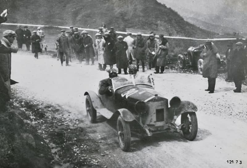 1928 Alfa's first victory at the Mille Miglia