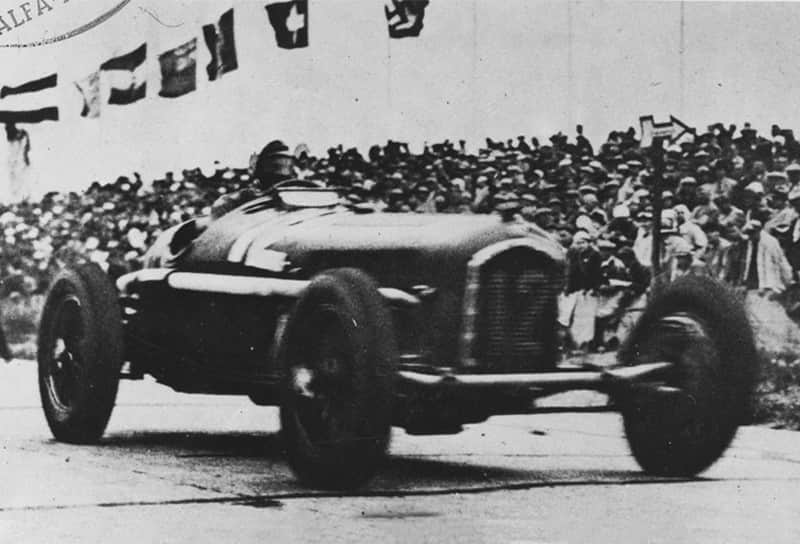 Nuvolari won the German Grand Prix - 1935