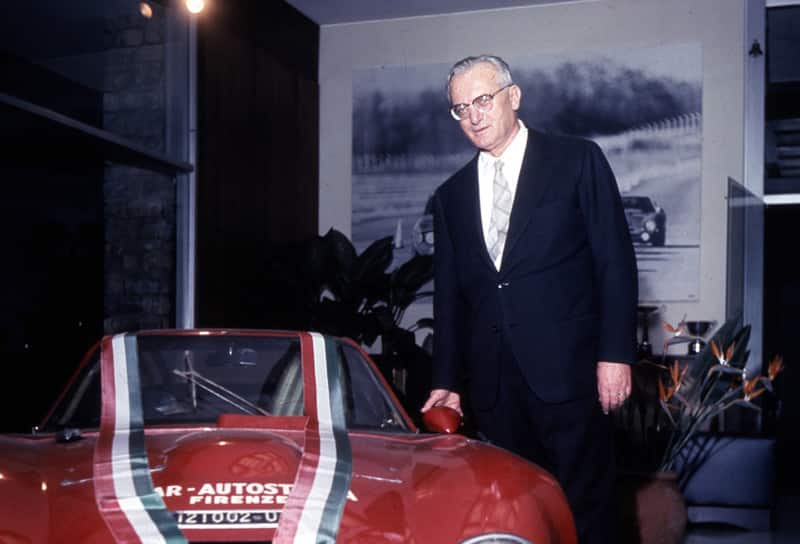 1960 Luraghi was appointed Alfa Romeo's new chairman