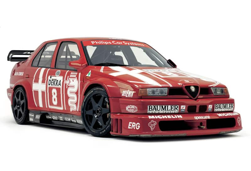 Alfa 155 improved on the Alfa 75 - 1992