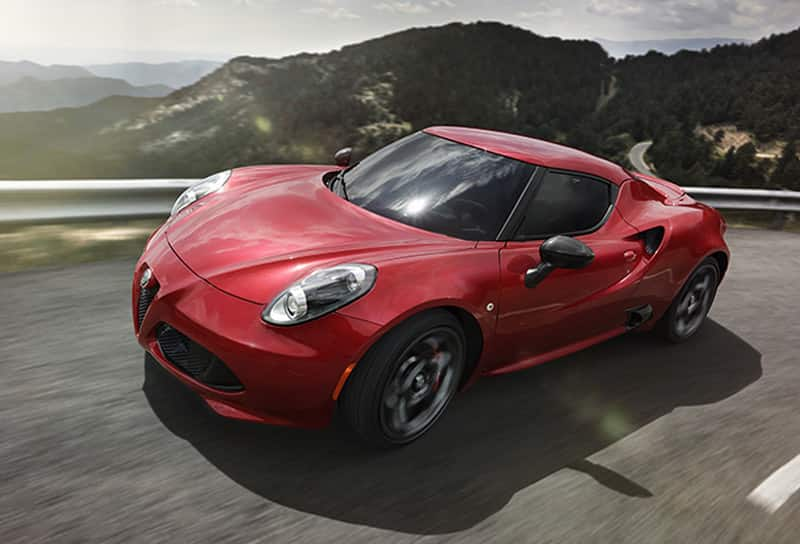 Alfa Romeo 4C Coupe and 4C Spider - 2015