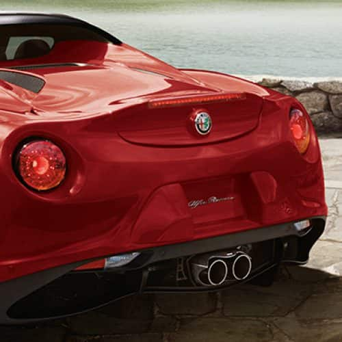 Alfa Romeo 4C Coupe And 4C Spider Sports Cars