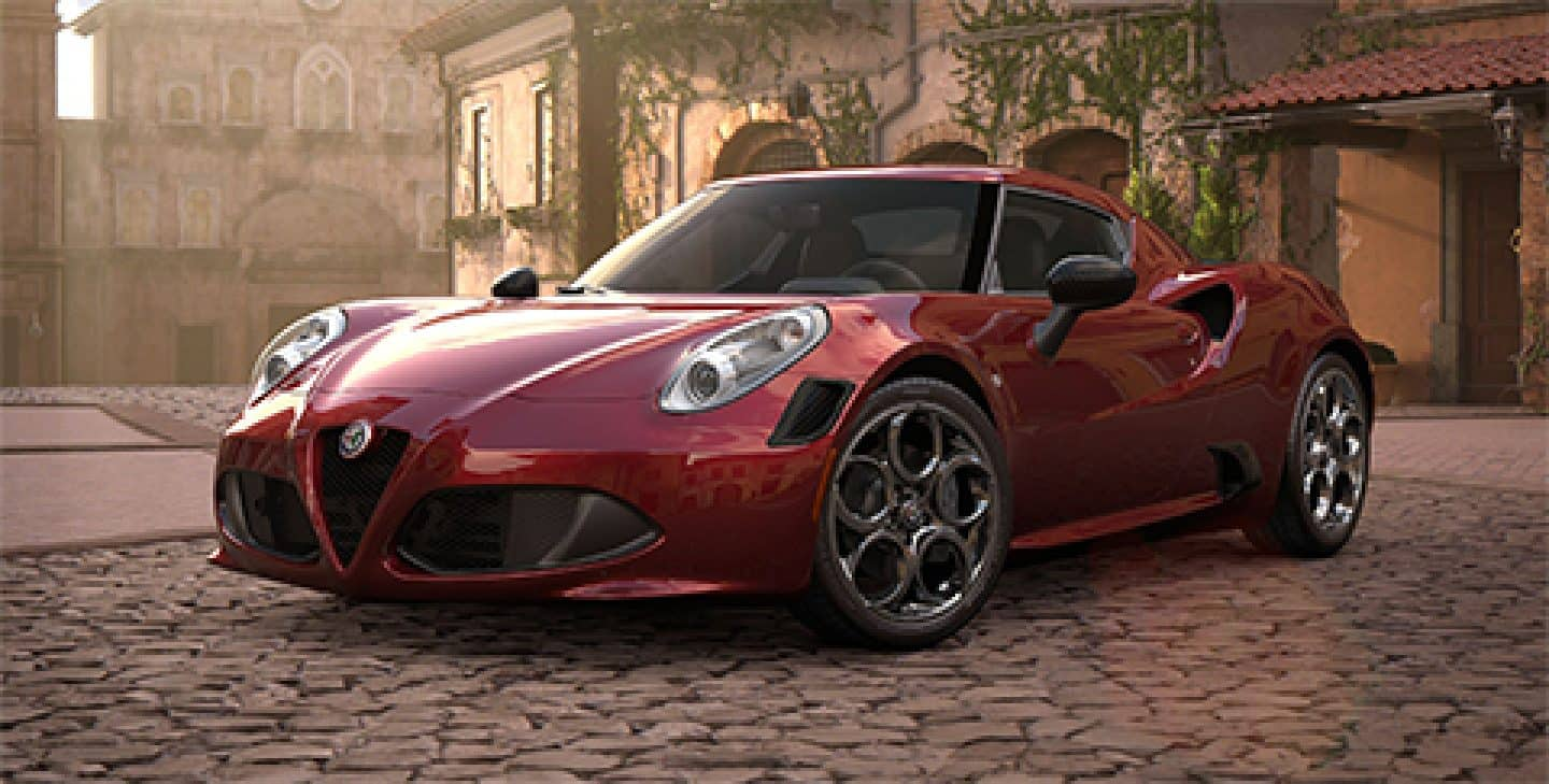 Alfa Romeo 4C Coupe and 4C Spider Sports Cars - Alfa Romeo USA