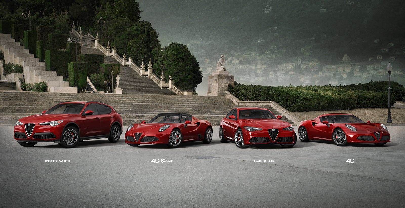 Alfa Romeo 4C >> Alfa Romeo Sports Cars & SUVs - Official Alfa Romeo Site