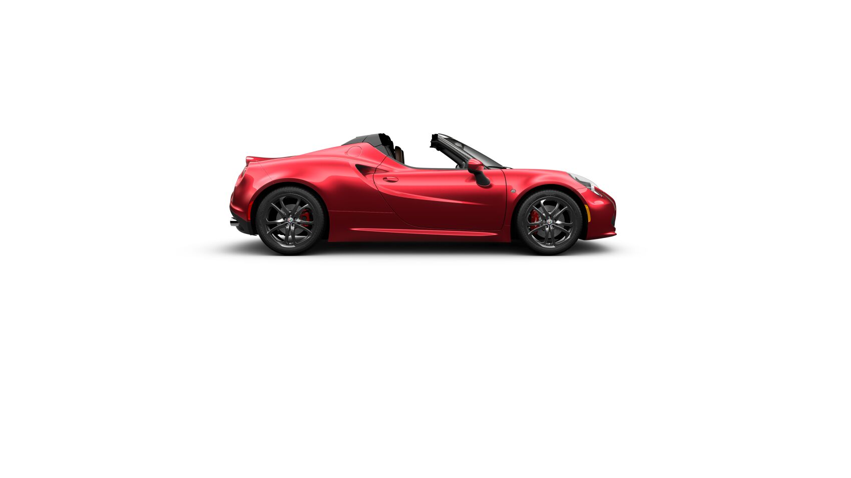 2018 Alfa Romeo 4C Spider 360 Side View